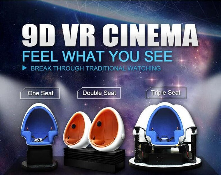 Hot sale and newest 9D VR headset pc 5d cinema electric platform virtual reality interactive cinema dynamic cinema