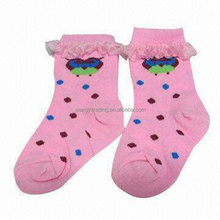 Baby ruffle cotton ankle socks