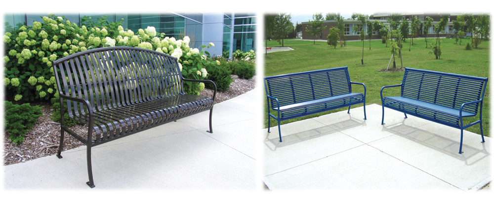 OEM Factory wholesale metal stainless steel leisure/garden round bench