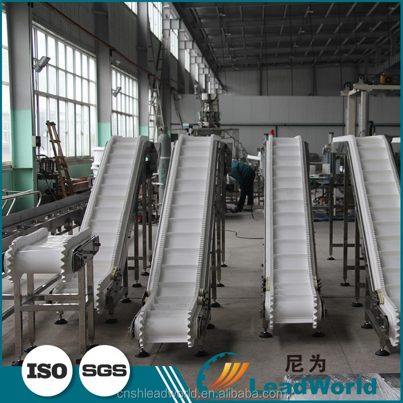 PVC Conveyor Belt Modular For Pharmaceutical Industry System