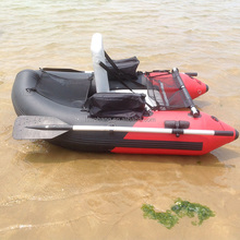 Inflatable fly fishing Boat for One Person with Paddle