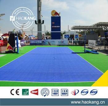 Anti Slip Outdoor Waterproof Sports Flooring PP Interlocking Floor