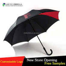 big size good quality golf umbrella with personalized pattern