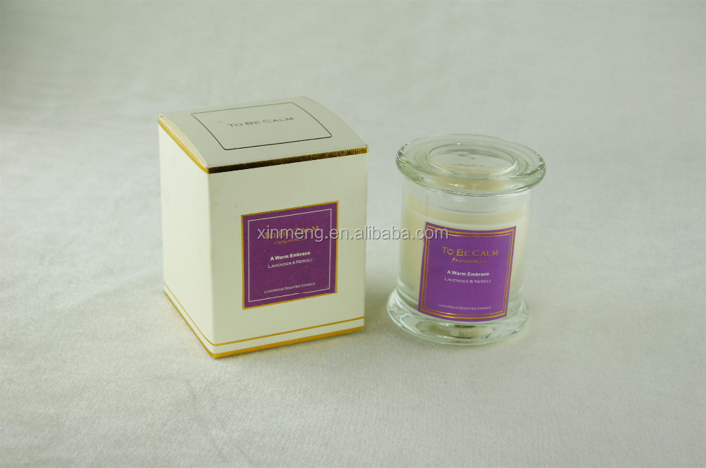 wholesale natural scented candles manufacture in China