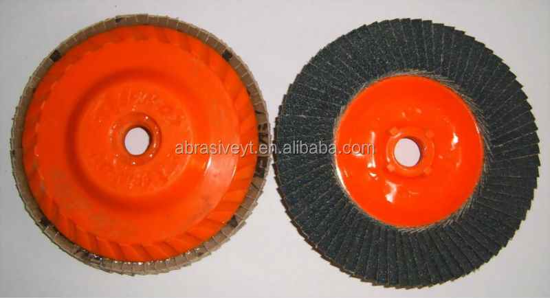 direct sale abrasive flap disc with cercification disc brake backing plate