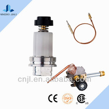 Gas cooker magnetic control valve