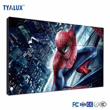 1x4 2x2 3.5mm floor stand lcd video wall