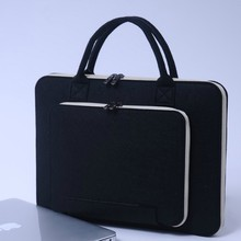 2018 China supplier waterproof eco-friendly laptop bag/ felt computer case