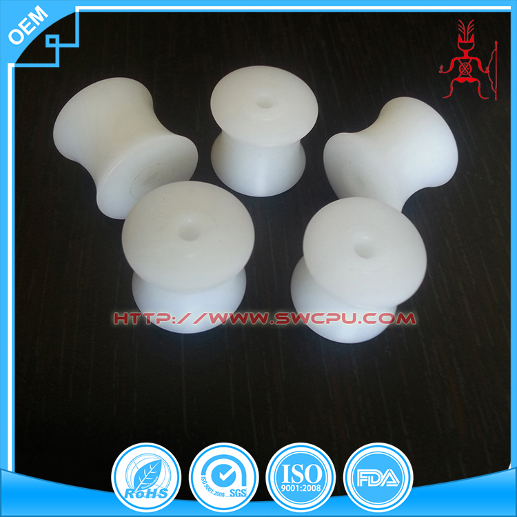 Manufacture OEM CNC plastic toy wheels PA6 wheels plastic wheels for toys