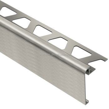 surface treatment of anodized brushed curtain wall section aluminum profiles