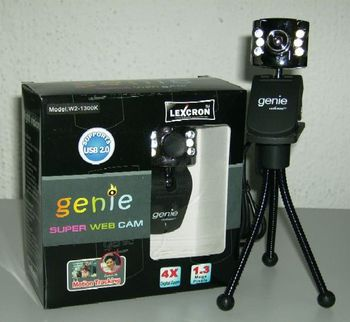 Lexcron Genie USB 2. 0 1. 3mp Webcam