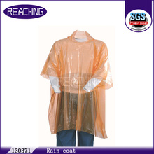 Feedback Within 1 Hour Logo Printed Disposable Adults Rain Poncho For Promotion