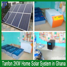2KW 3kw 5kw solar photovoltaik system for home / solar power system 5 kw 10KW 15KW for home / solar panel off grid system 10KW