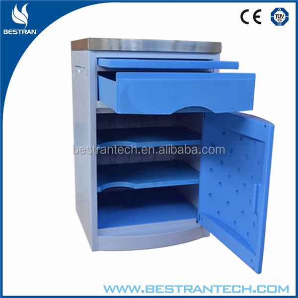 BT-AL007 Hospital Ward Furniture Clinical Nightstand Cabinet Manufacturer Price