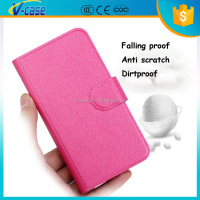 VCASE Hot sale PU leather Flip Back Cover Case for Samsung Infuse I997 4G