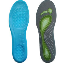 Designer Graceful Non-slip Comfort Foot Massage Magnetic Liquid Gel Insoles For Shoe