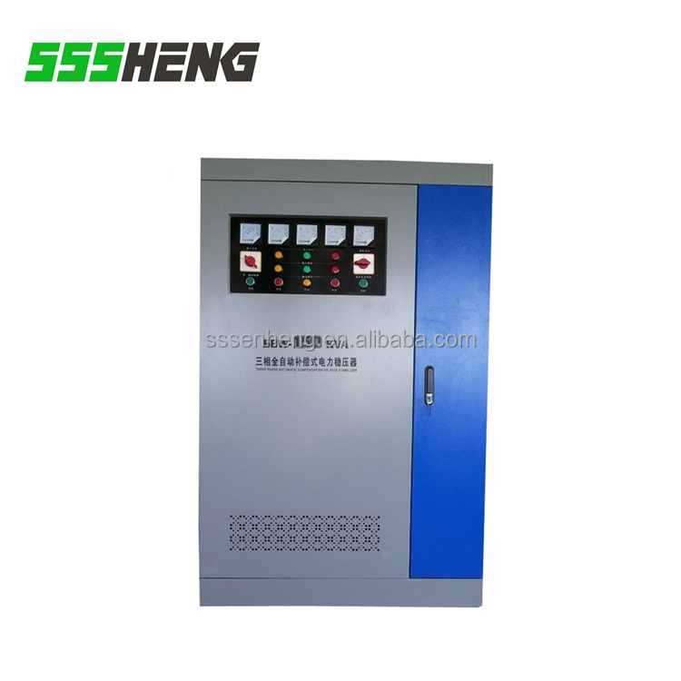 sbw 150kva large power automatic voltage stabilizer / voltage regulator for industry use