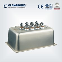 ultrasonic cleaning dip tank high power transducer industrial and housing stainless steel