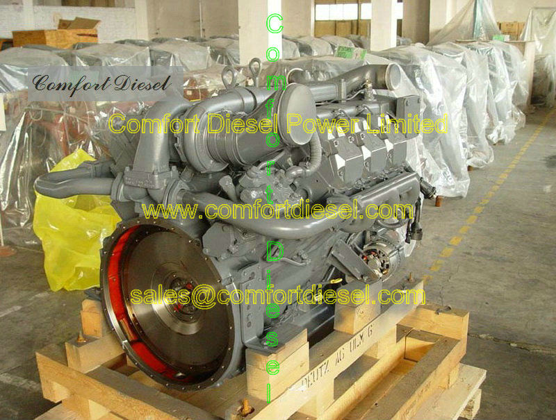 Deutz BF8M1015CP diesel engine for generator set,construction machine and military vehicle