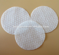 Round cosmetic cotton pads for nail oil removal/disposable nonmove nail polish cleaning wipes