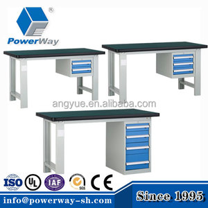 Powerway brand workbench steel work bench with drawers