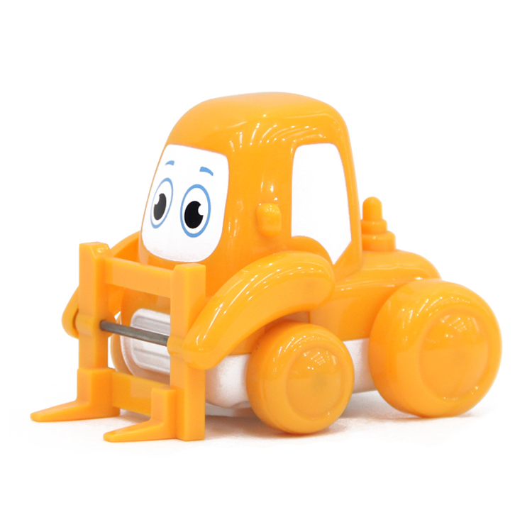 Funny 4 big wheel kids plastic mini friction powered car toys