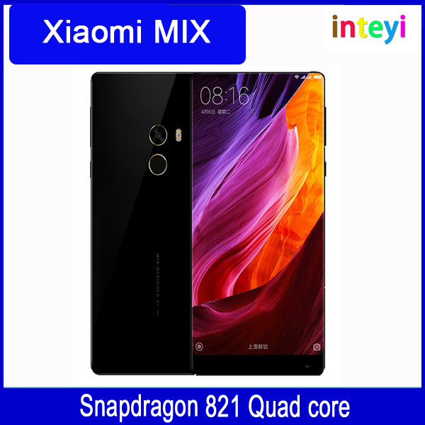 "Original Xiaomi Mi Mix 6.4 inch 4GB RAM 128GB ROM/6GB RAM 256GB ROM 4400mAh Snapdragon 821 6.4""Full Screen 2040x1080P phones"