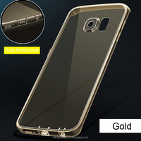 Soft TPU silicon case Cover Transparent Case for samsung galaxy s6 edge plus note 5