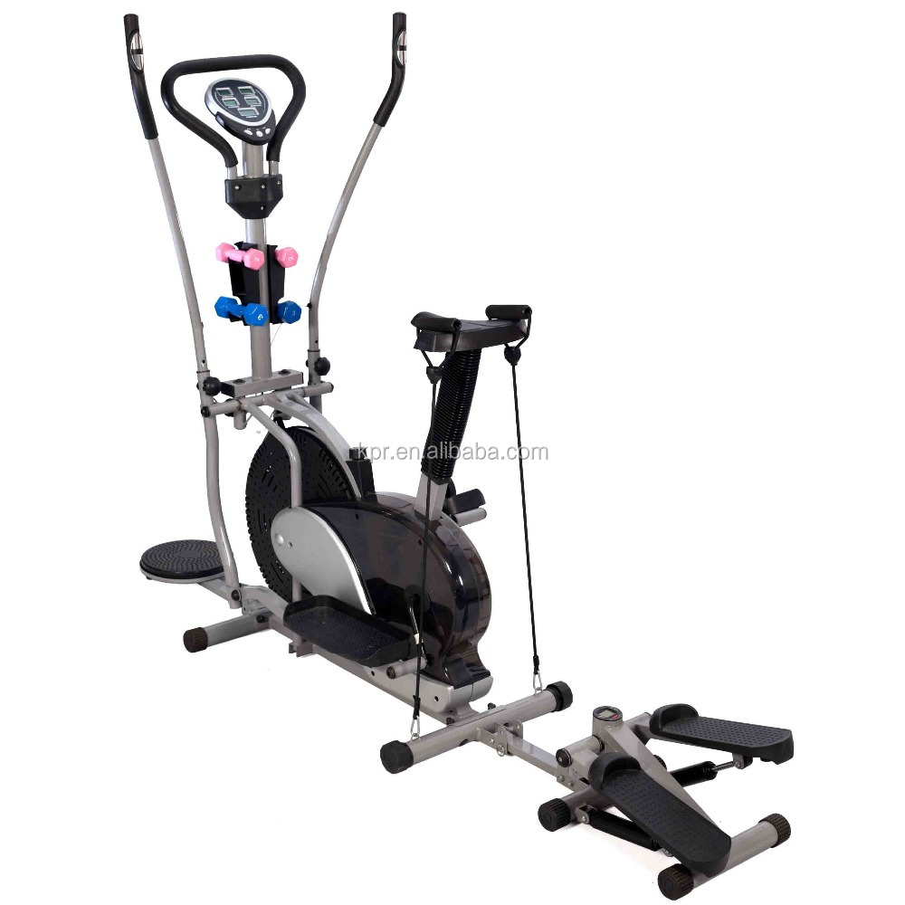 Multifunction elliptical orbitrac bike
