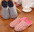 Lattice Style slipper cotton slipper cheap shoes indoor
