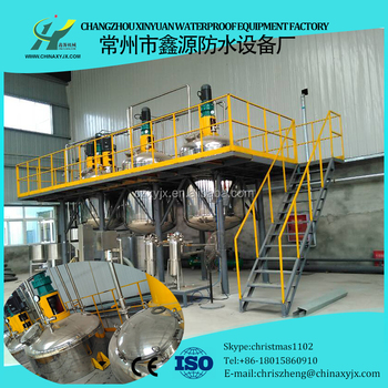 Complete Waterproof Paint Production Line for Construction Technology