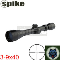 SPIKE 3x-9x optics rifle scope for hunting 40mm objective rifle scope hunting equipment