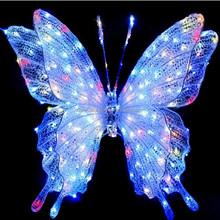 Flying shinning attractive butterfly string light
