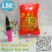 advertising inflatable chips replica balloon