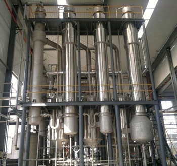 SHJO high efficient three effect falling film evaporator