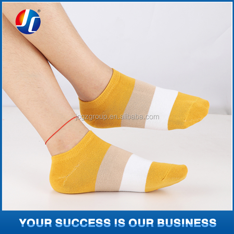 100% cotton women and men adult crew socks in stock