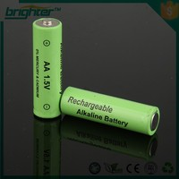 battery 1.5v size aa r6 battery for rechargeable flashlight