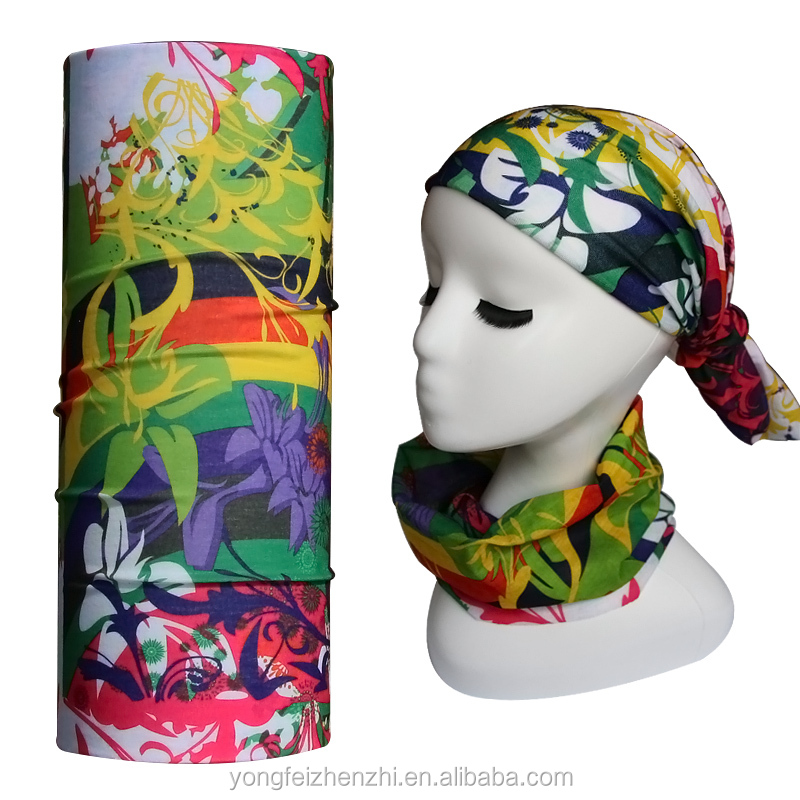 Custom Knit Headband High Quality Sublimation Mask Bandana Custom Printed Cheap Bandana