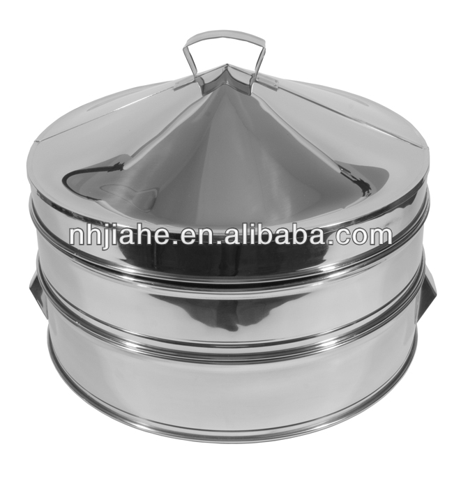 Stainless Steel Dim Sun Steamer and lid