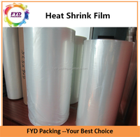 High Barrier Transparent Poly Plastic Heat Shrink Film For Pallet Wrapping