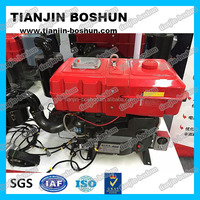 professional manufacturer agricultural machine Single cylinder diesel engine hp3-30 hand & electric start 4 stroke S195 ZS1110