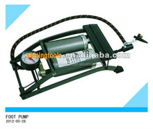 Bicycle or Motobike tire foot pump and air pump