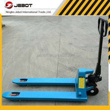 China export hand pallet truck hs code