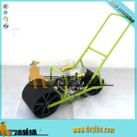 walk behind wheels vegetable planting machine for precision seeding
