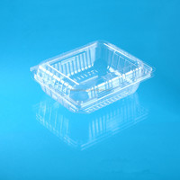 blister packaging plastic clamshell food container