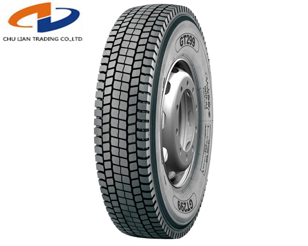 Chinese Yinbao Brand All Steel Radial TBR 295/80R22.5 Truck Tire