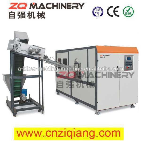 Full-Automatic Linear PET Blow Molding Machines pet plastic dekang e-liquid bottle