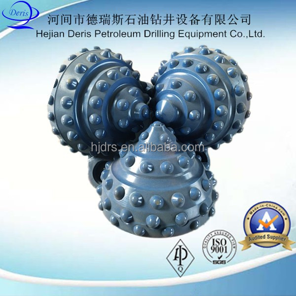 gauge enhance protect 311mm iadc 627 blue HF ball teeth tci tricone rock drill bits deep oil well drilling bits prices
