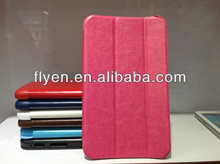 New trifold Leather Case Cover For Samsung Galaxy Tab 3 7.0 T210 T211 P3200 P3210 red