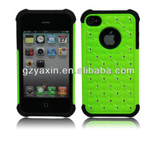 TPU + Silicone Back Cover for Samsung and iphone Cell Mobile Phone Case